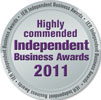 Highly Commended Independent Buisness Awards 2011