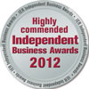Highly Commended Independent Buisness Awards 2012