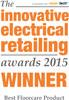 Innovative Electrical Retailing Awards 2015