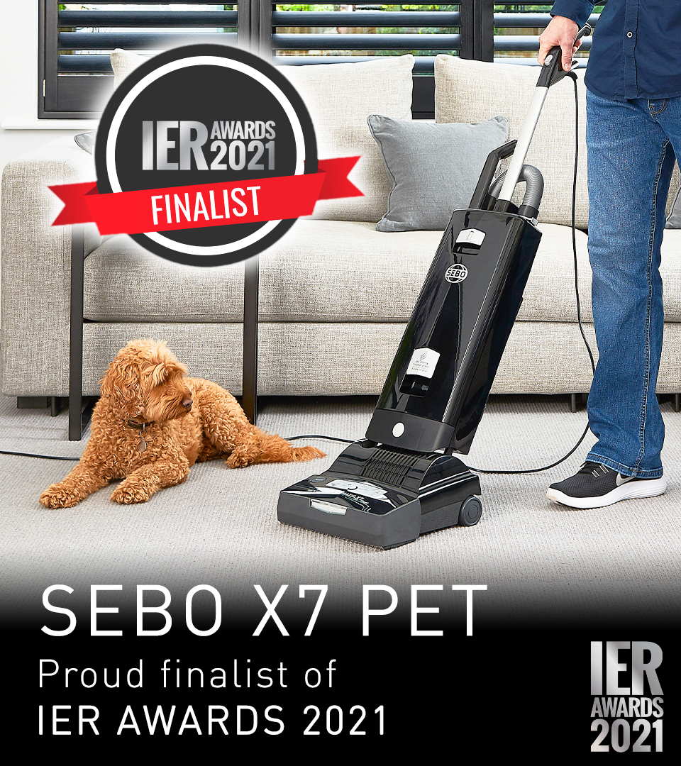 SEBO X7 PET IER AWARDS 2021
